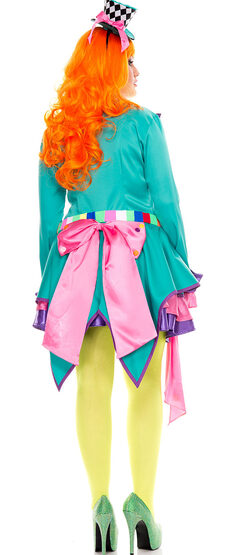 Mad Hatter Hottie Plus Size Costume