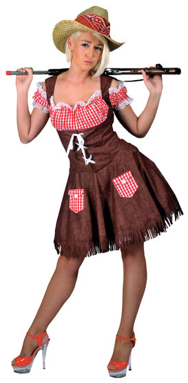 Hillbilly Beauty Cowgirl Adult Costume
