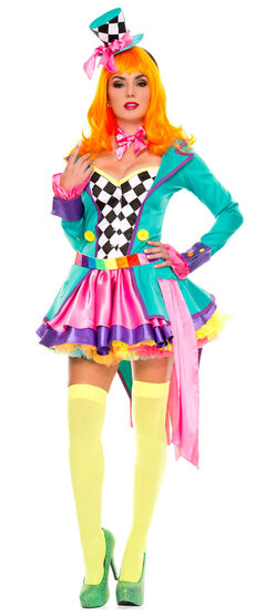 Sexy Mad Hatter Hottie Costume