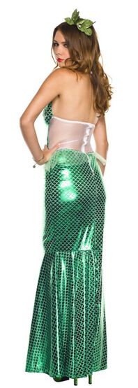 Sexy Aqua Green Mesmerizing Mermaid Costume