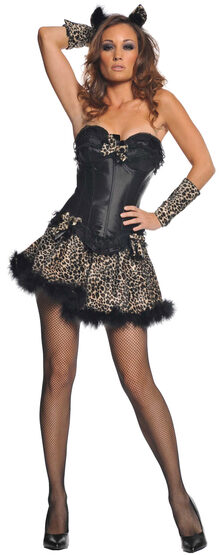 Sexy Momma Cougar Cat Costume