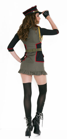 Sexy Army General Curve-A-Geous Costume