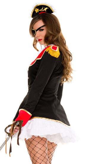 Sexy Cute Pirate Captain Costume