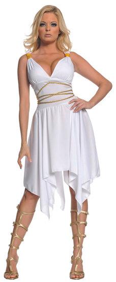 Sexy Goddess of Lust Greek Costume