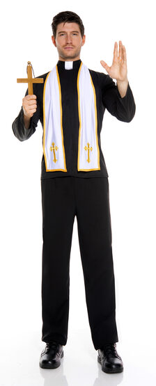 Religious Priest Adult Costume