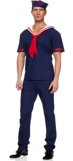 Sexy Ahoy Matie Sailor Costume