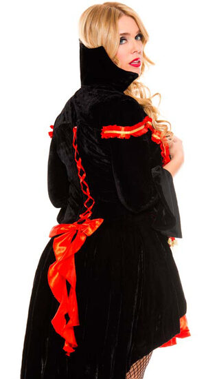 Blood Sucking Vampire Countess Plus Size Costume