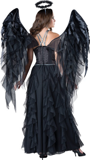 Sexy Divine Dark Angel Costume
