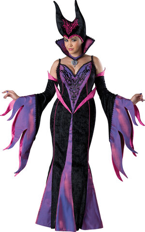 Maleficent Dark Sorceress Plus Size Costume