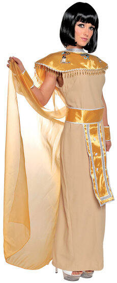 Golden Nile Goddess Adult Costume
