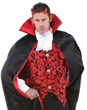 Mens Devil Vest Adult Costume