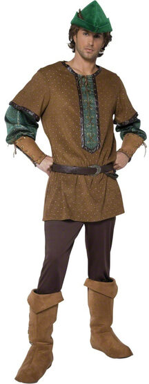 Mens Old England Robin Hood Adult Costume