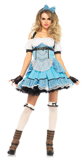 Sexy Rebel Alice in Wonderland Costume