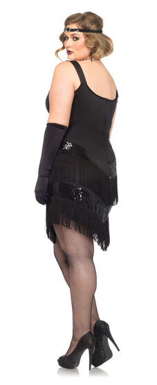 Glamourous Flapper Plus Size Costume