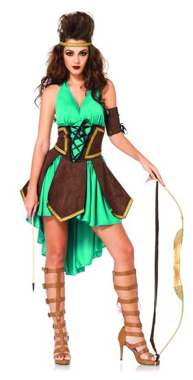Sexy Celtic Warrior Costume