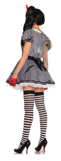 Wind Me Up Dolly Adult Costume
