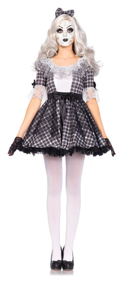 Pretty Porcelain Doll Adult Costume