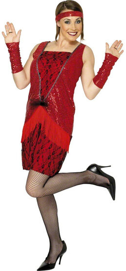 20s Flirty Flapper Adult Costume