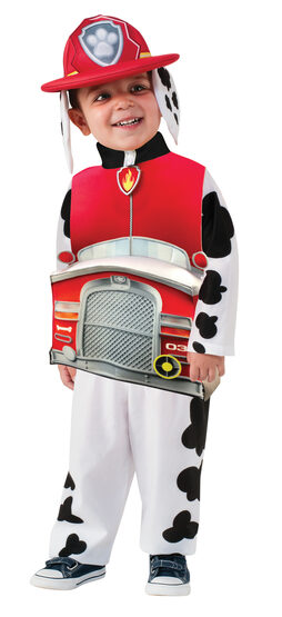 Paw Patrol Deluxe Marshall Kids Costume