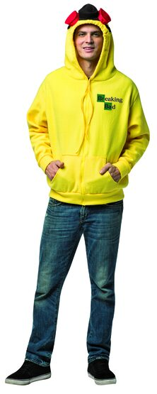 Funny Breaking Bad Hoodie Adult Costume