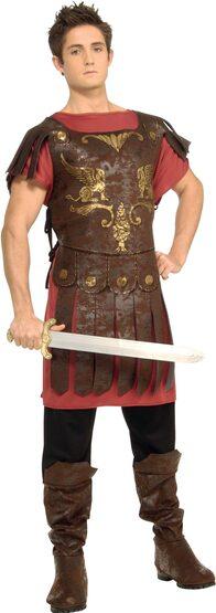 Boys Roman Gladiator Kids Costume
