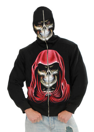 Mens Evil Empire Skeleton Hoodie