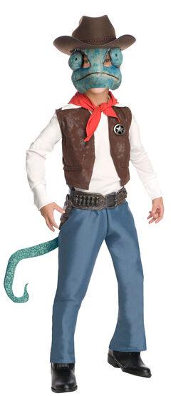 Cowboy Rango Kids Costume
