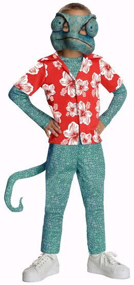 Boys Rango Hawaiian Kids Costume