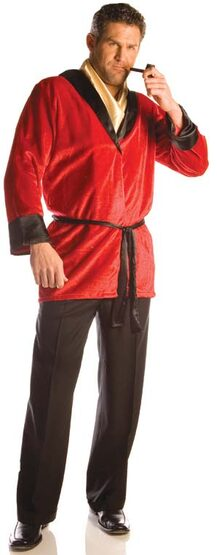 Adult Playboy Smoking Jacket Costume