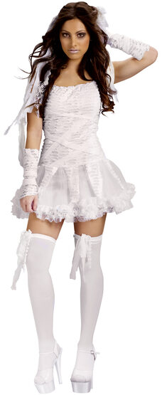 Sexy Tattered Tutu Mummy Costume
