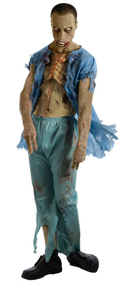 The Walking Dead Zombie Patient Adult Costume