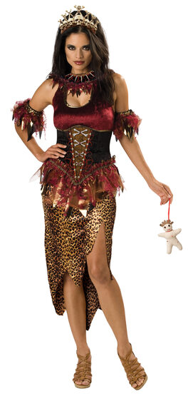 Womens Voodoo Priestess Adult Costume