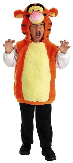 Tigger Plush Vest Deluxe Toddler Costume