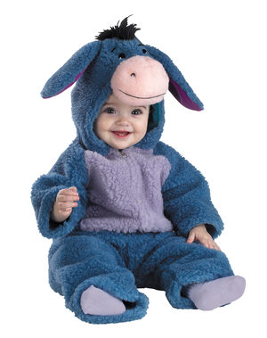 Eeyore Plush Deluxe Baby Costume