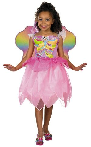Kids Barbie Elina Toddler Fairy Costume