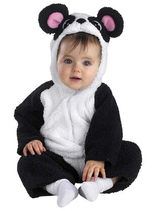 Petite Panda Baby Costume