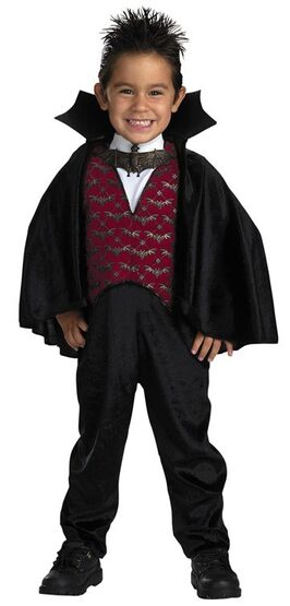 Little Count Toddler Vampire Costume