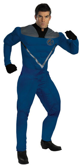 Mr Fantastic Movie Muscle Deluxe Adult Costume