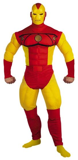 Iron Man Muscle Chest Deluxe Adult Costume