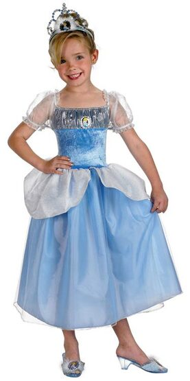 Kids Disney Princess Cinderella Costume