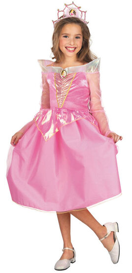 Disney Sleeping Beauty Princess Aurora Kids Costume