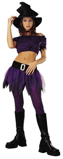 Adult Purple Witch Costume