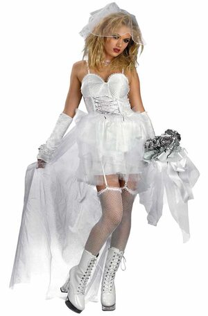 Pop Bride Gothic Adult Costume