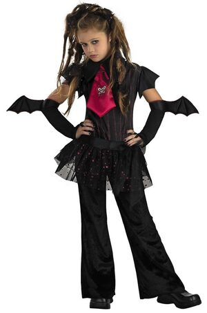 Bat Chick Gothic Kids Costume