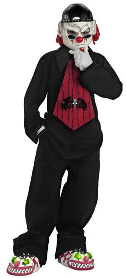 Street Mime Scary Kids Costume