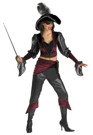 Womens Buccaneer Beauty Pirate Costume