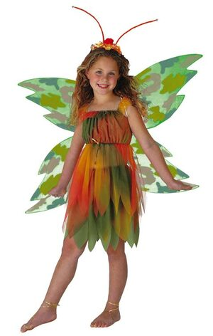 Amber The Woodland Fairy Kids Costume