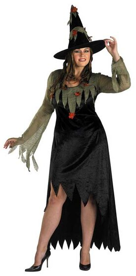 Woodland Witch Plus Size Costume