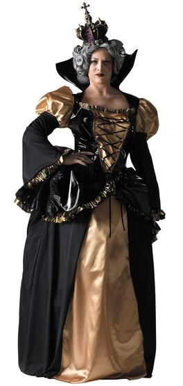 Womens Evil Queen Plus Size Costume