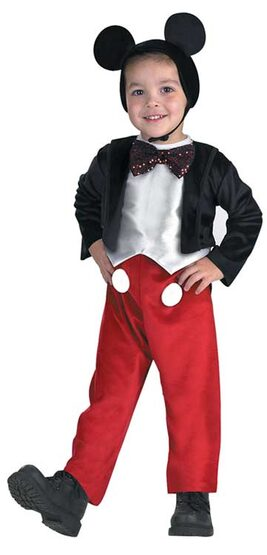 Disney Mickey Mouse Deluxe Kids Costume